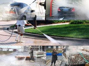 5 công dụng của máy rửa xe cao áp