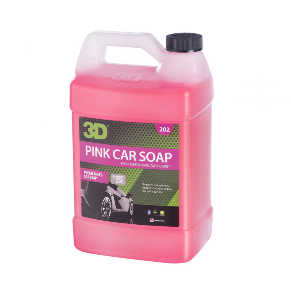 Nước rửa xe 3D Pink Car Soap 1 Gallon (3,8L) | 202G01