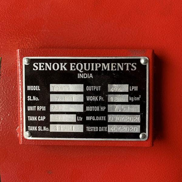 Máy nén khí SENOK TC600