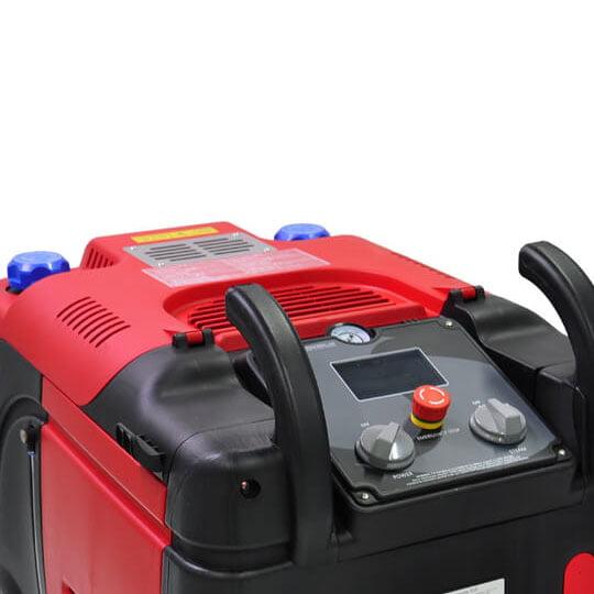 Máy rửa xe hơi nước nóng Optima Steamer EX