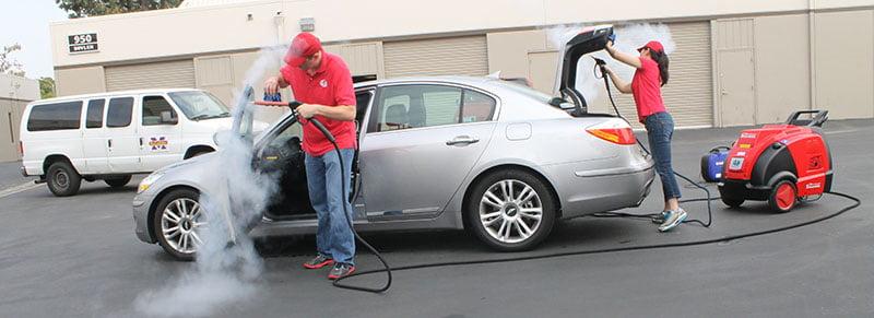 Máy rửa xe hơi nước nóng Optima Steamer XE làm tăng hiệu quả làm việc