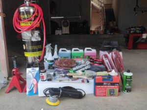Lắp đặt trọn bộ thiết bị rửa xe tại điểm trạm ấp Hạ Hòa, Phú Thọ