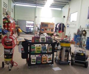 Lắp đặt thiết bị rửa xe tại Mỹ Tho - Tiên Giang